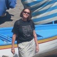 Lisa on Atrani beach